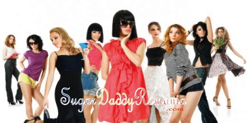 grup de fete îmbrăcate în diferite haine sugarbabes România